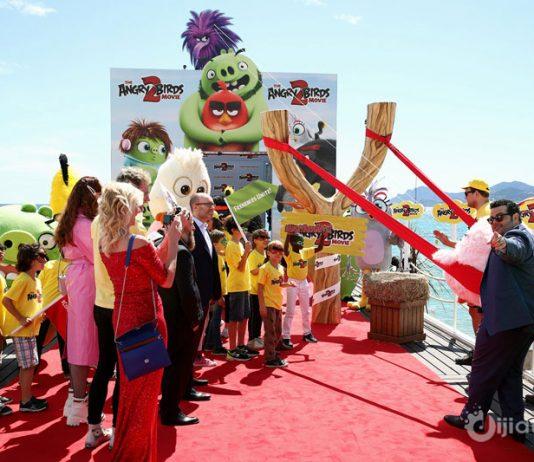 Angry Birds Filmi Cannes Film Festivalinde Canlandırıldı