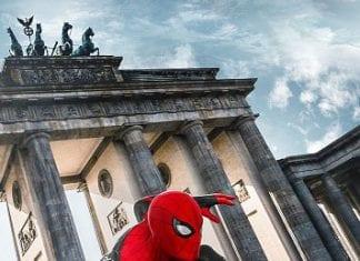 Örümcek Adam Evden Uzakta Afiş