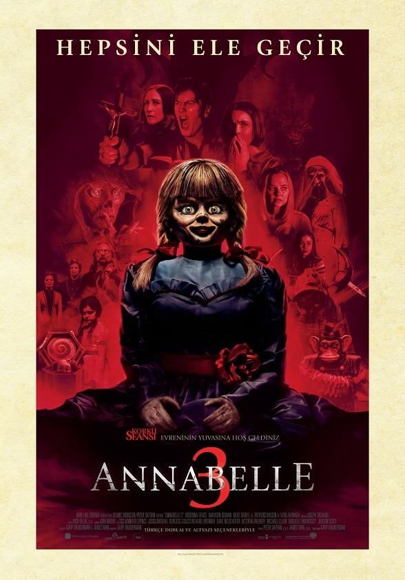 Annabelle 3 Kaçış Oyunu Afiş